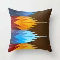 Navajo Fire & Ice Throw Pillow