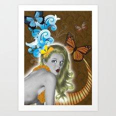 Pinup Art Print