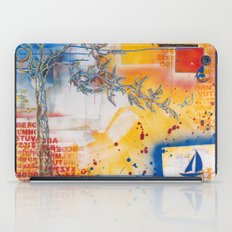 I'm on a boat iPad Case