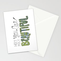 Holy Moly You Are Beautiful! Stationery Cards