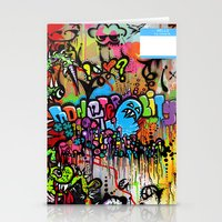 A Monster City Hello Stationery Cards