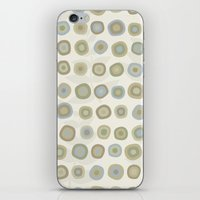 My Fall Small Circles iPhone & iPod Skin