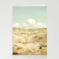The Beginning Sleeping Bear Sand Dunes Stationery Cards