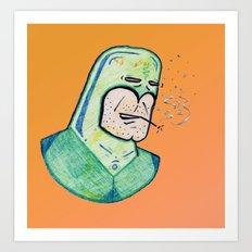 SUPER Stoned Art Print