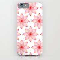 Gradient Strings Blossoms iPhone 6 Slim Case