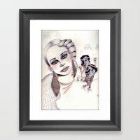 3D Nightmare Framed Art Print