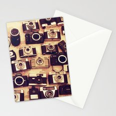 I love analogue photography Stationery Cards