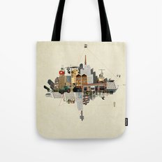 Collage City Mix 5 Tote Bag