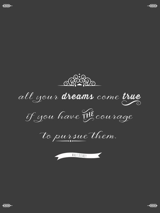 All your dreams Art Print