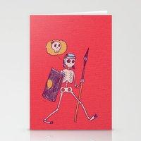 Skelie Stationery Cards