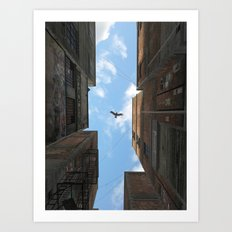 Afternoon Alley Art Print