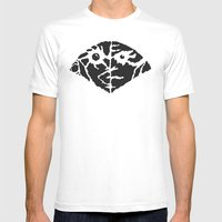 Quake Mens Fitted Tee White SMALL