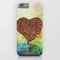iPhone & iPod Case featuring Brainheart by Fhil Navarro