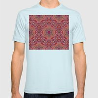 Pinky Mens Fitted Tee Light Blue SMALL