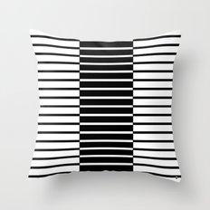 Zebras Play Piano Duet Throw Pillow