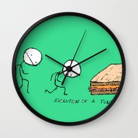 Evolution of a Tuna Melt Wall Clock