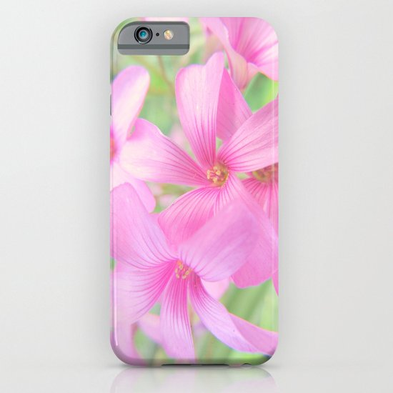 Coral Pink Petals iPhone & iPod Case