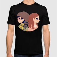 Sam And Suzy Mens Fitted Tee Black SMALL