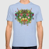 Cabana Fever Mens Fitted Tee Tri-Blue SMALL