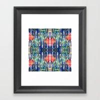 Mixed Signals Framed Art Print