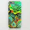 Succulent Garden iPhone & iPod Case