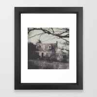 Richmond House Framed Art Print