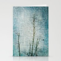 Minimalism ~ Perched Stationery Cards