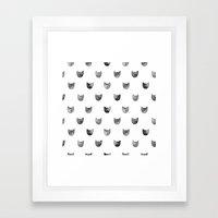 Cat! Framed Art Print