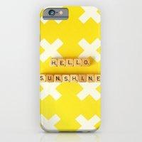 Hello Sunshine iPhone 6 Slim Case