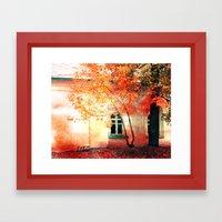 Season Of Fire Framed Art Print