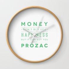 Prozac Nation Wall Clock