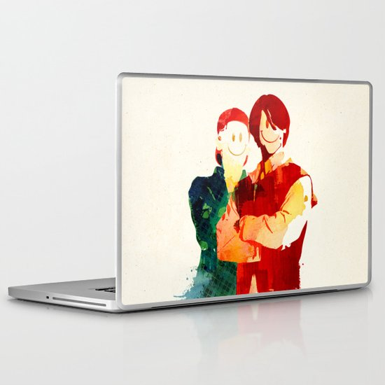 Time Travellers Laptop & iPad Skin
