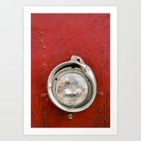 One Headlight Art Print