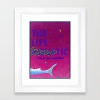 The Life Aquatic Framed Art Print