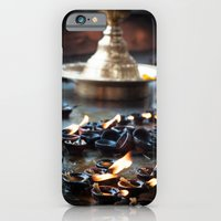 iPhone & iPod Case featuring Divine Diyas by Aparna Ram