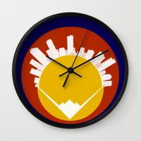Eolus / Denver / Colorad… Wall Clock