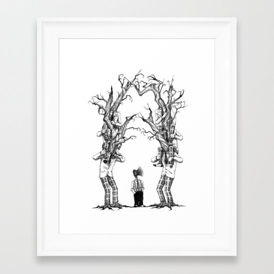 Be Different Framed Art Print