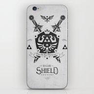 Legend Of Zelda Hylian S… iPhone & iPod Skin