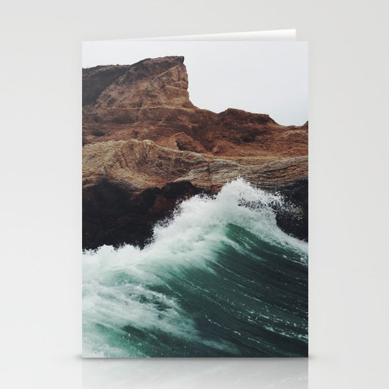 Montaña Wave Stationery Card