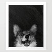 Sausage Fox Art Print
