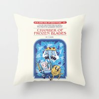 It's Time For An Adventure! Throw Pillow