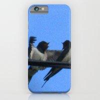 Sullu (swallows) iPhone 6 Slim Case