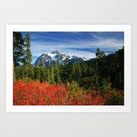 Mt. Shuksan Art Print