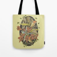 Robins and Warblers Tote Bag