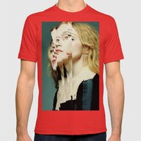 Another Portrait Disaster · M1 Mens Fitted Tee Red SMALL