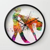 Dancing Queen 3 Wall Clock