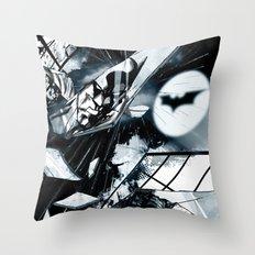 Glass is Broken Throw Pillow