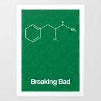 breaking bad Art Prints featuring Breaking Bad by Karolis Butenas