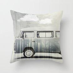 Kombi Dreaming Throw Pillow