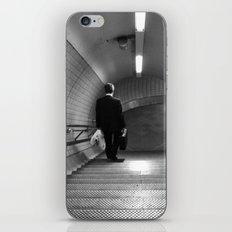 Empty London Underground stairs iPhone & iPod Skin